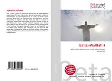 Buchcover von Bahai-Wallfahrt