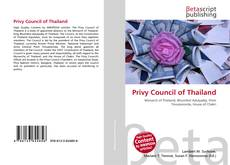 Bookcover of Privy Council of Thailand