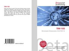 Bookcover of TIM-100