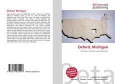 Capa do livro de Oxford, Michigan