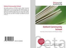 Capa do livro de Oxford Community School