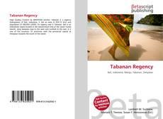 Bookcover of Tabanan Regency