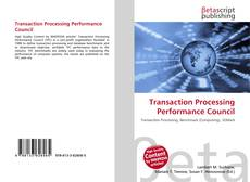 Bookcover of Transaction Processing Performance Council