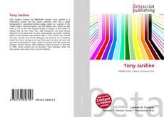 Tony Jardine kitap kapağı