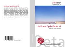 Copertina di National Cycle Route 13