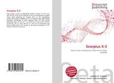 Buchcover von Scorpius X-2