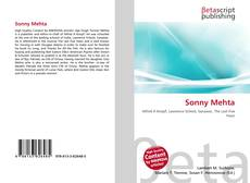 Bookcover of Sonny Mehta