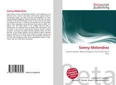 Capa do livro de Sonny Melendrez