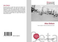 Couverture de Alex Debon