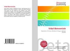 Bookcover of Vidal Benveniste