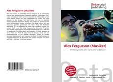Bookcover of Alex Fergusson (Musiker)