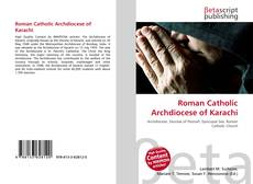 Bookcover of Roman Catholic Archdiocese of Karachi