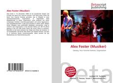 Capa do livro de Alex Foster (Musiker)