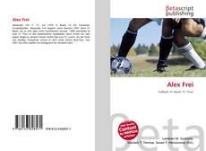 Capa do livro de Alex Frei