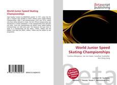 Обложка World Junior Speed Skating Championships