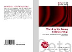 Buchcover von World Junior Teams Championship
