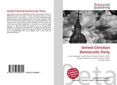 Bookcover of United Christian Democratic Party