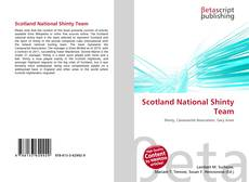 Bookcover of Scotland National Shinty Team