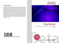 Capa do livro de Tony Hewson