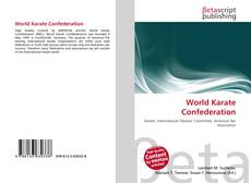 Copertina di World Karate Confederation