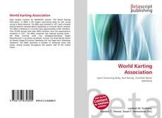 Capa do livro de World Karting Association