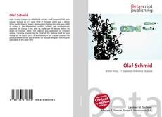 Buchcover von Olaf Schmid