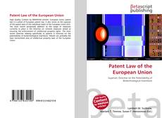 Copertina di Patent Law of the European Union