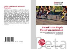 Bookcover of United States Bicycle Motocross Association