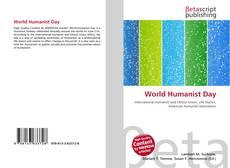 World Humanist Day kitap kapağı