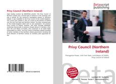 Bookcover of Privy Council (Northern Ireland)