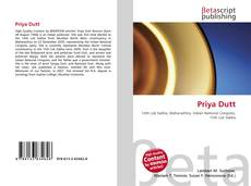 Bookcover of Priya Dutt
