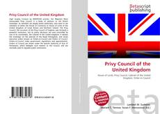 Bookcover of Privy Council of the United Kingdom