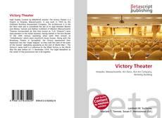 Victory Theater kitap kapağı