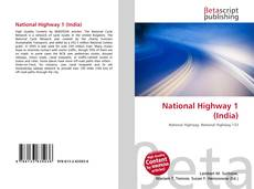 Bookcover of National Highway 1 (India)