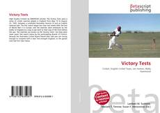 Bookcover of Victory Tests