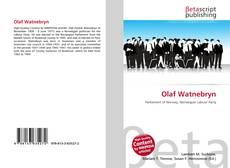 Обложка Olaf Watnebryn