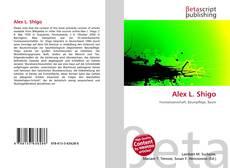 Alex L. Shigo kitap kapağı