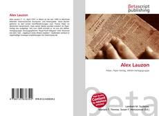 Buchcover von Alex Lauzon