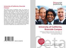 Bookcover of University of California, Riverside Campus