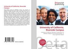 Borítókép a  University of California, Riverside Campus - hoz