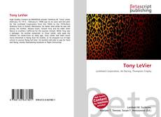 Bookcover of Tony LeVier
