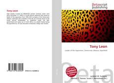 Bookcover of Tony Leon