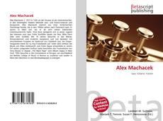 Portada del libro de Alex Machacek