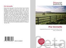 Prix Vermeille kitap kapağı