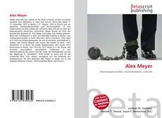 Buchcover von Alex Meyer