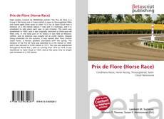 Обложка Prix de Flore (Horse Race)