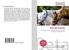 Prix de Guiche kitap kapağı
