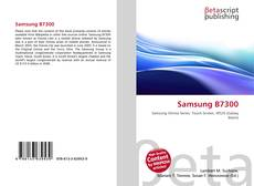 Bookcover of Samsung B7300