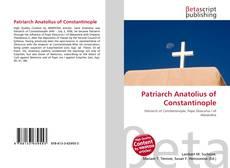 Bookcover of Patriarch Anatolius of Constantinople