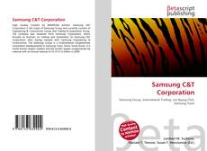 Bookcover of Samsung C&T Corporation